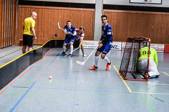 Donau Floorball vs. Halle Saalebiber