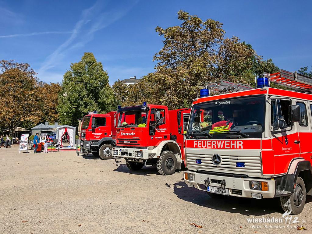 Ehrenamtstag Kurpark Wiesbaden 16.09.18