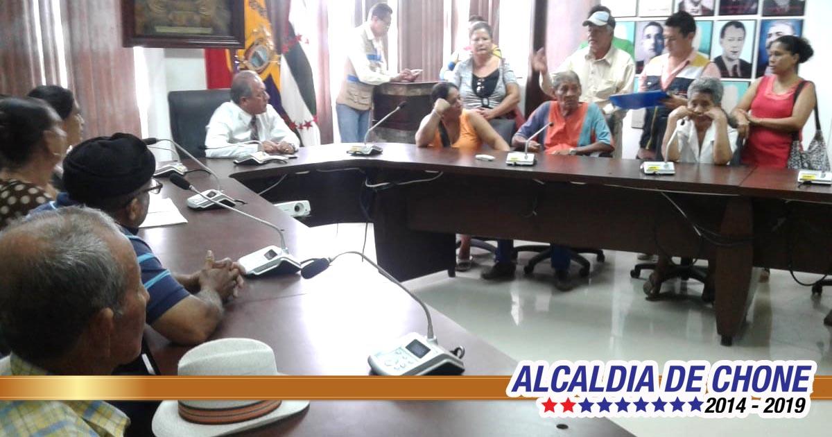 Alcalde se reunió con habitantes de la Jorge Gallardo