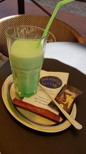 Mint Latte im Eiscafé Fontanella