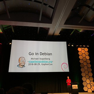 GopherCon 2018 Go in Debian