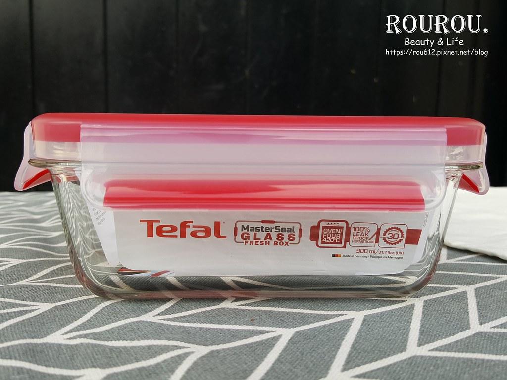 Tefal法國特福 無縫膠圈耐熱玻璃保鮮盒2