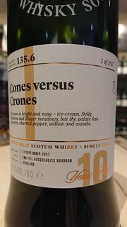 SMWS 135.6 - Cones versus crones