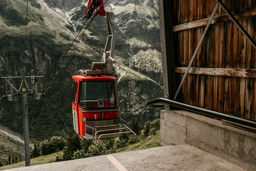 engelberg cable car