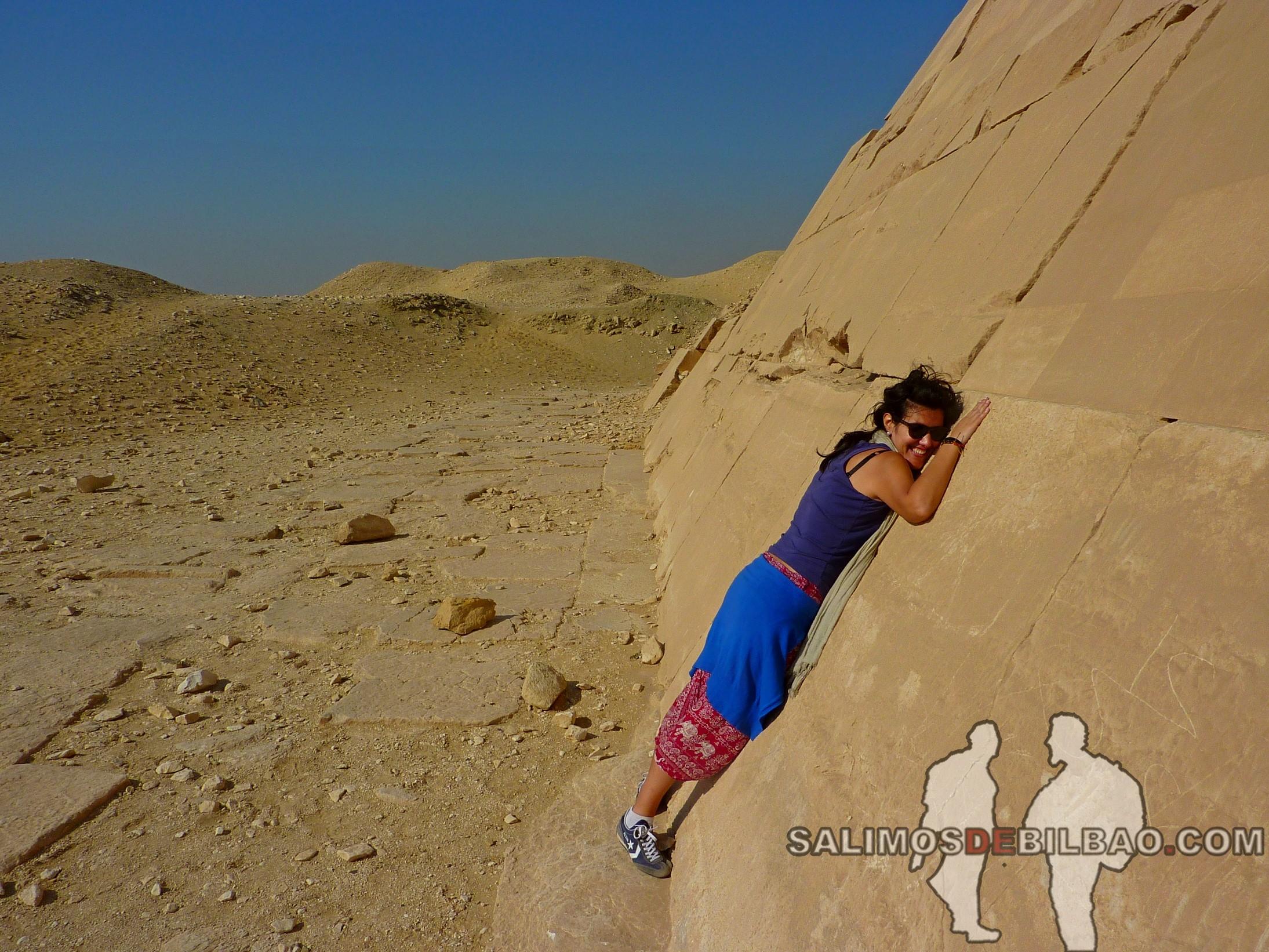 0317. Saioa, Pirámide en el Complejo de la Pirámide escalonada de Zoser, Saqqara