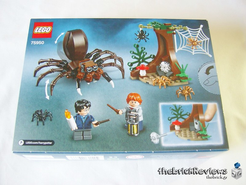 ThebrickReview: 75950 Aragog's Lair 29259065757_151f5f7a60_c