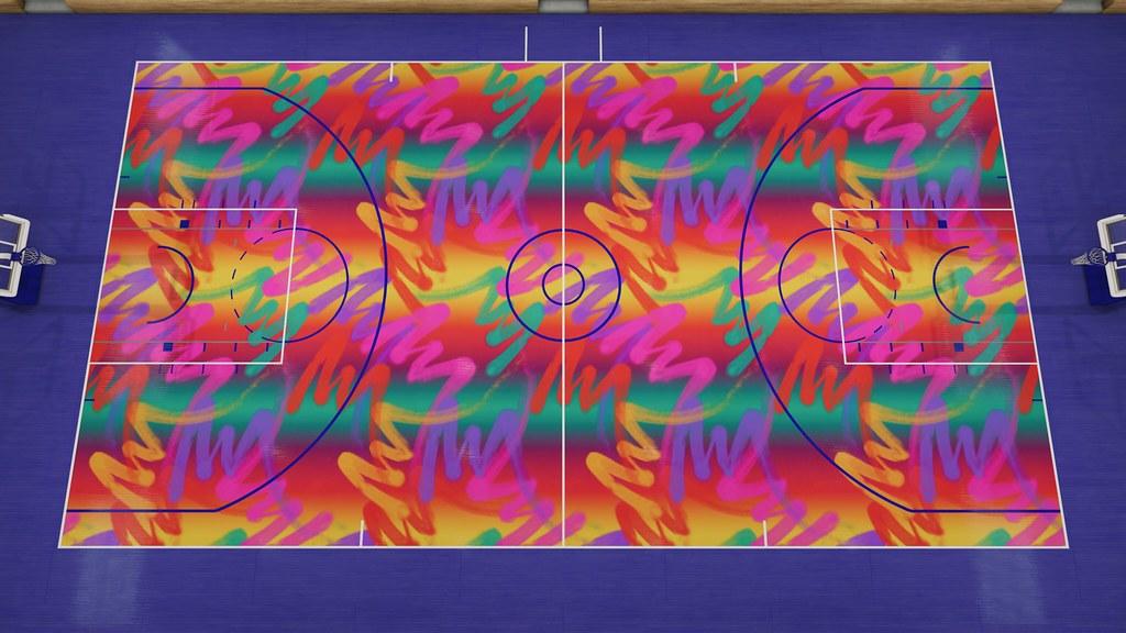 NBA Live 19 Custom Courts