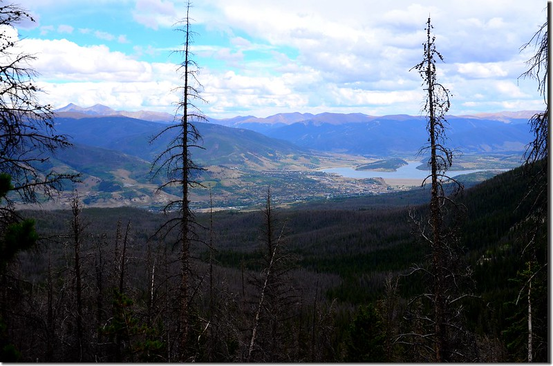 Looking east at Dillon Reservoir from Willow Lakes Trail (2)