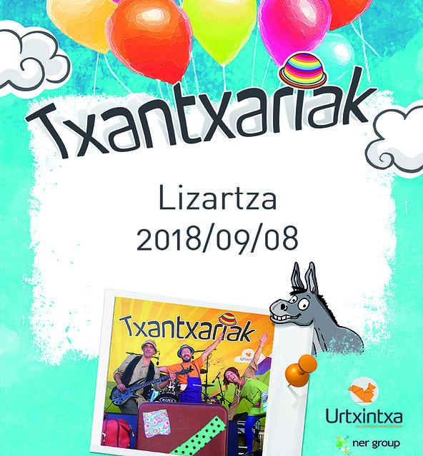 Txantxariak Lizartzan. 2018/09/08