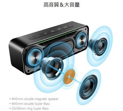 Mifa A20 Bluetooth スピーカー 特徴 (6)