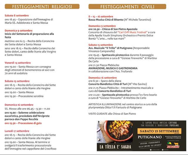 Festa Addolorata Putignano 2