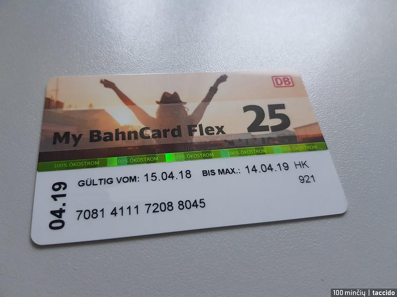 F TR bahncard