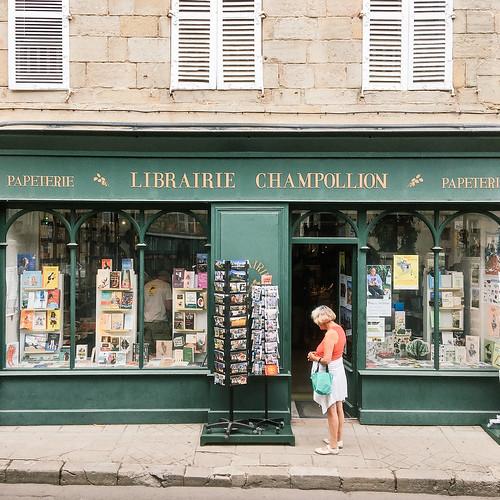 Road-trip en France - Librairie Champollion, Gaillac