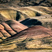 shapes and colors of the painted hills by jody9