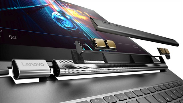 "[IFA2018] Lenovo Yoga C930, un 14"" innovant et haut de gamme"