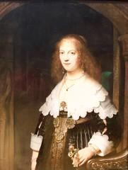 Portrait of a woman, possibly Maria Trip _ Rembrandt van Rijn