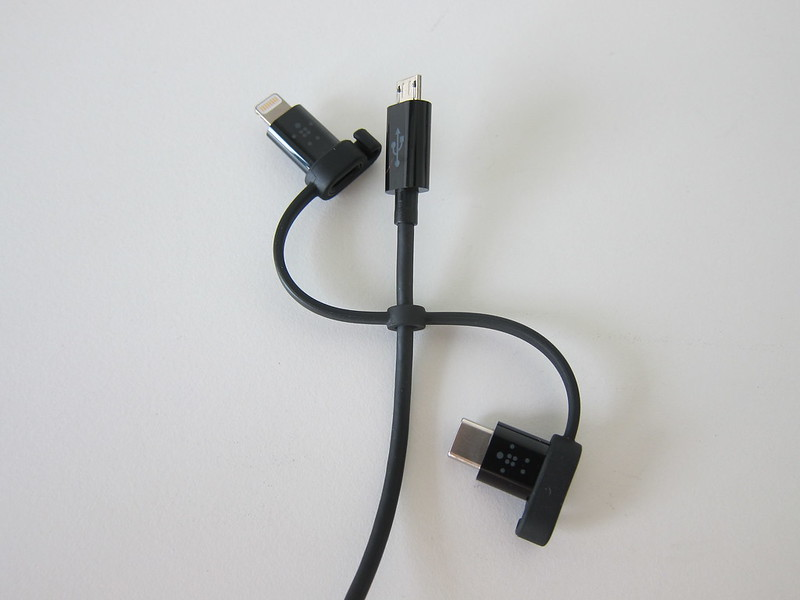 Belkin Universal Cable - Connectors Movable