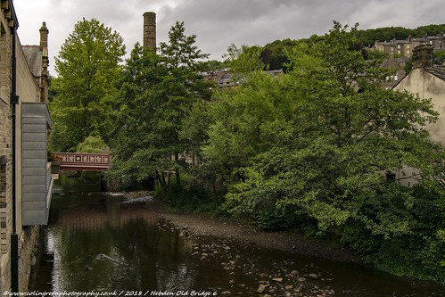 St George's Bridge and Hebden Water.