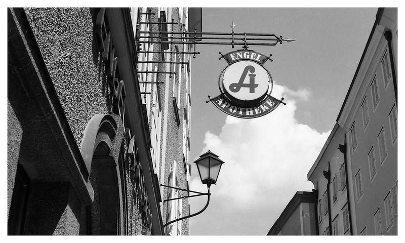 salzburg  apothek sign