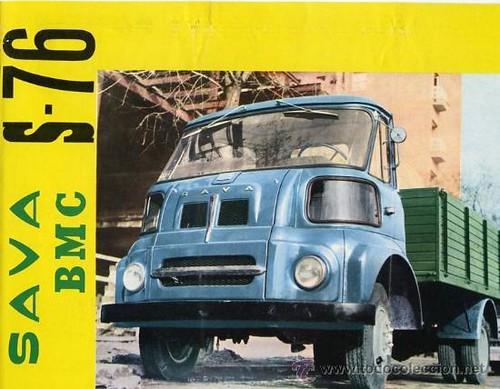 portada catàleg camió Sava S-76 1962