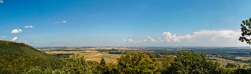 Panorama from the Mont Saint-Michel (Alsace)