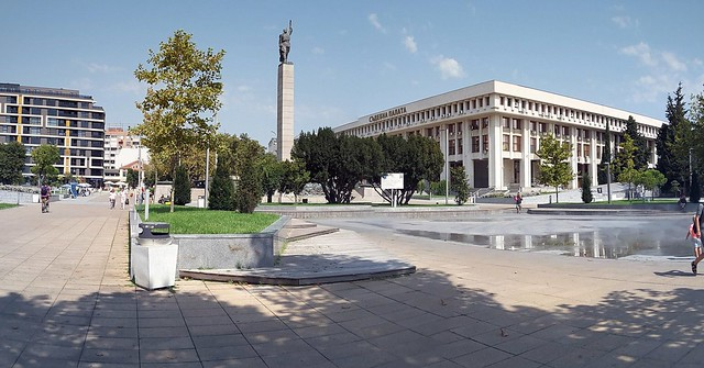 Burgas, Bulgaria, in panorama. Today we are going home.