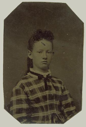 Tintype young girl