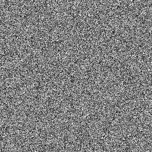 white noise visual