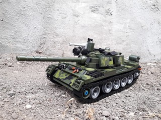 My T-55 with real Lego!