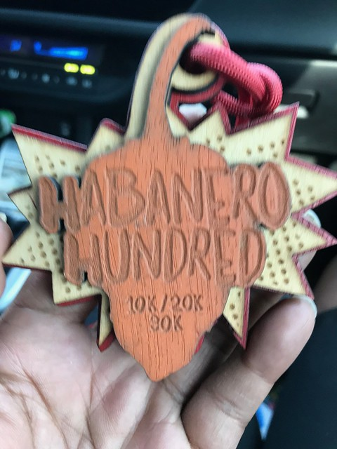 I quit Habenero hundred 20k