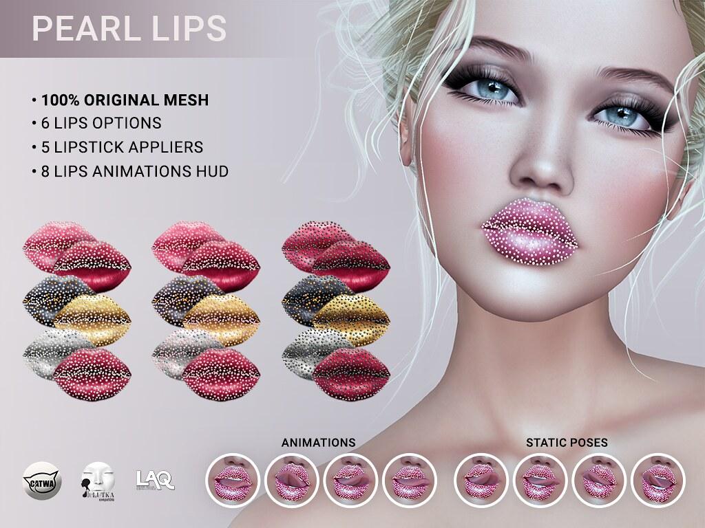 SEmotion Libellune Bento Pearl Lips Art!