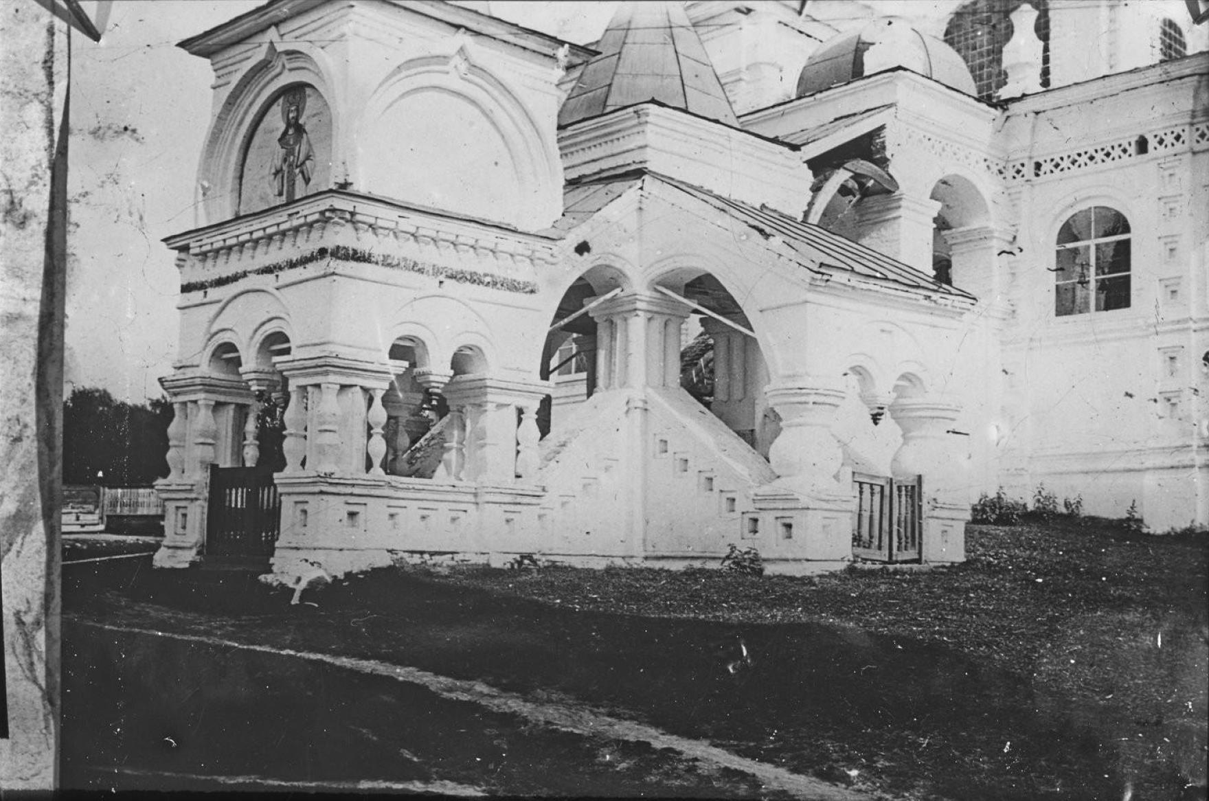 Пермская губерния. Соликамск.  Троицкая церковь