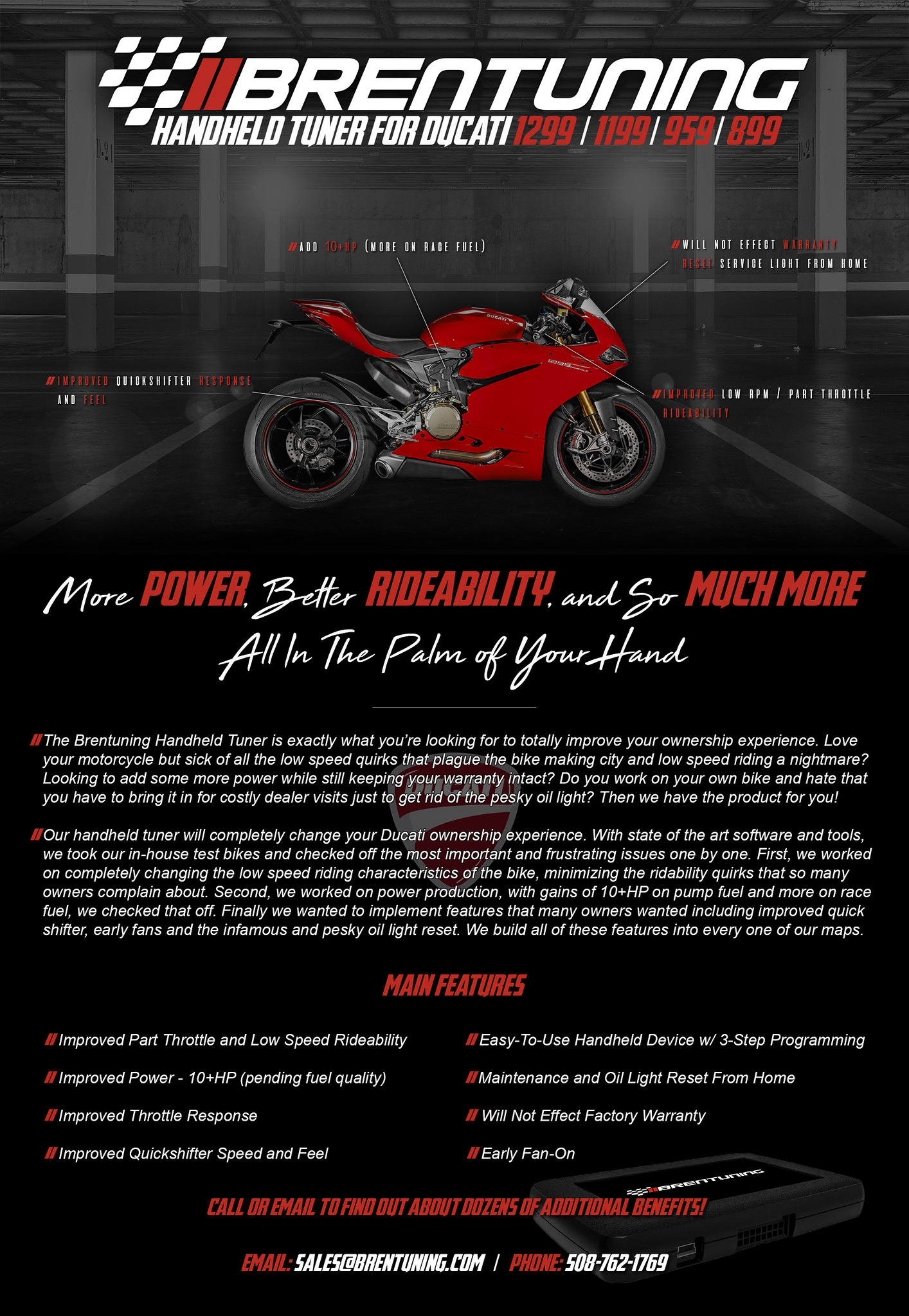 BrenTuning Ducati Tuning Easy Reference Guide and Coupon Code