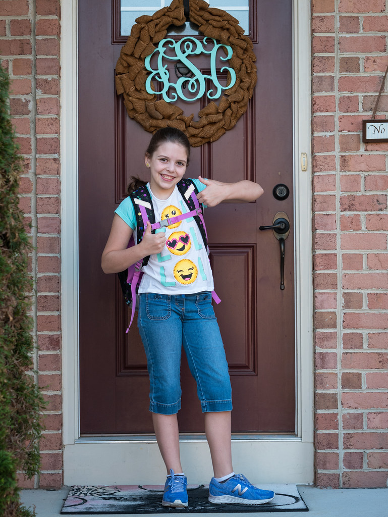 First day of middle school