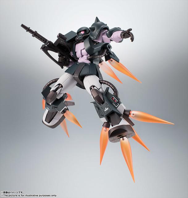 ROBOT魂 高機動型薩克II 「黒色三連星版本」ver. A.N.I.M.E.!MS-06R-1A 高機動型ザクII ver. A.N.I.M.E.~黒い三連星~