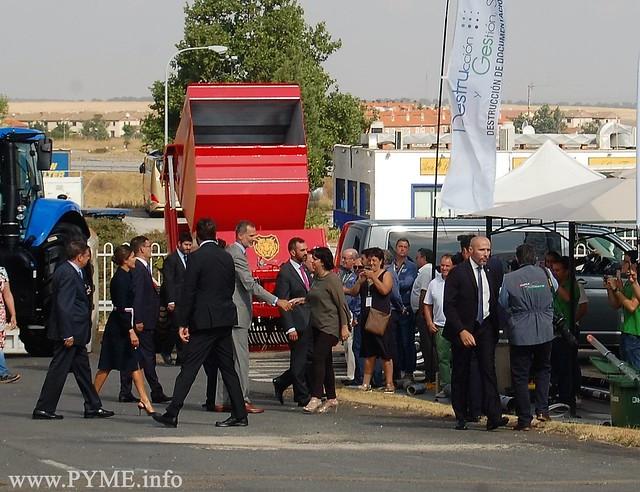 CONFAES apuesta por el sector en la inauguración de la Feria Agropecuaria
