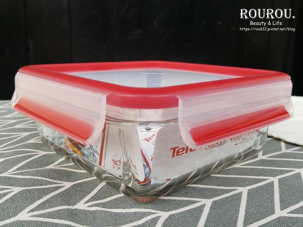 Tefal法國特福 無縫膠圈耐熱玻璃保鮮盒3