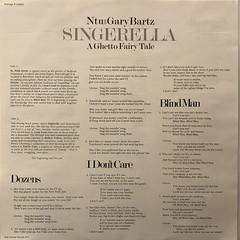 NTU WITH GARY BARTZ:SINGERELLA A GHETTO FAIRY TALE(INNER 1)