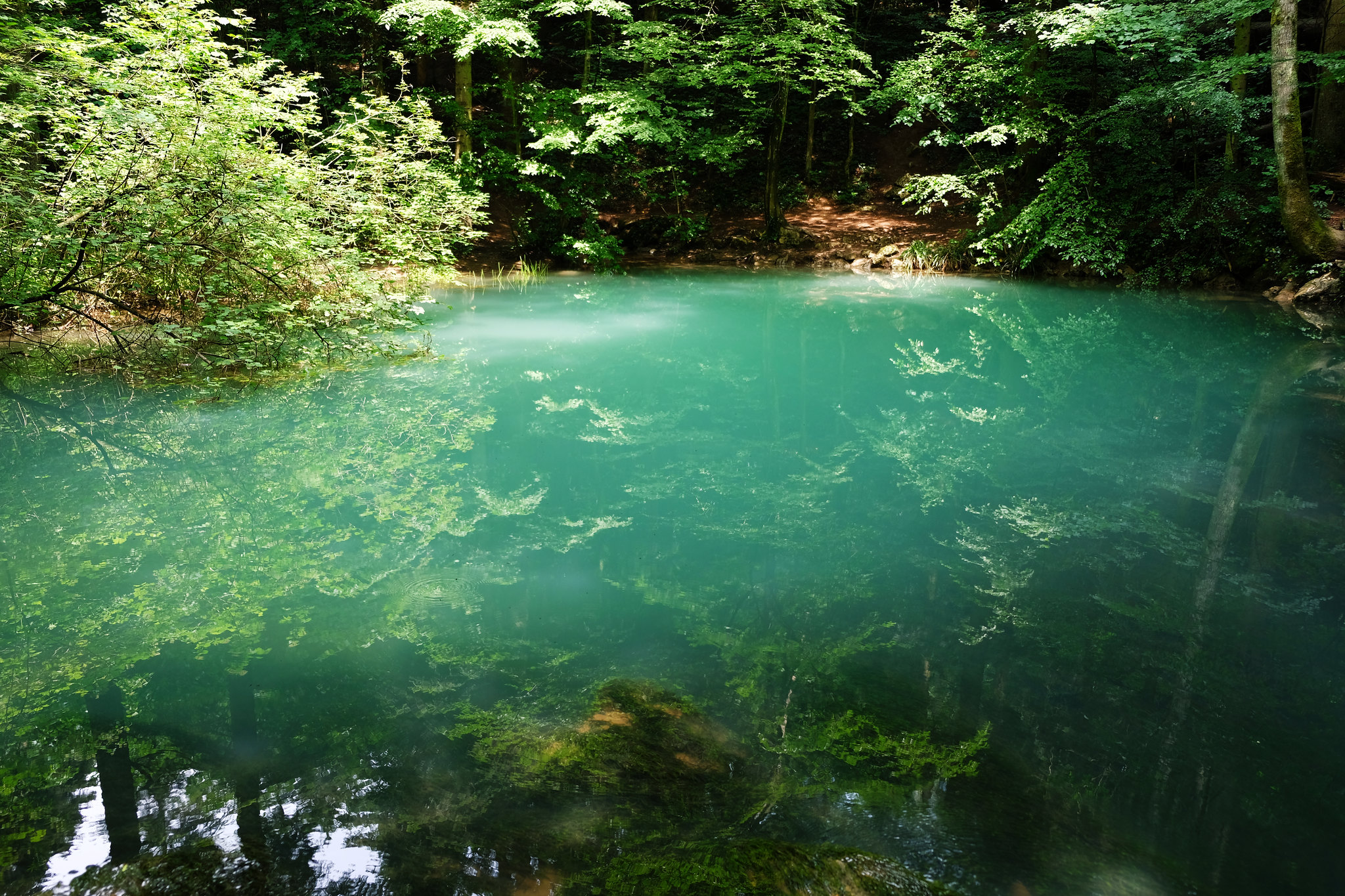 Ochiul Beiului, Nera Gorge-Beusnita National Park, Romania