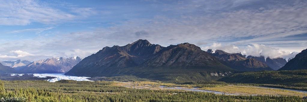 Matanuska glacier panorama - Alaska