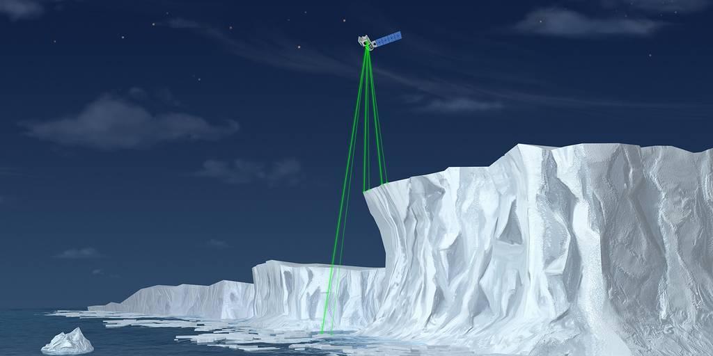 ICESat-2 : Un laser pour évaluer l'impact du changement climatique