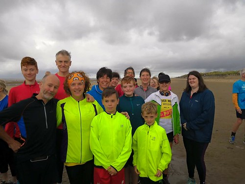 Edge Pistols On Tour at event #147 of Crosby parkrun on 15.09.18.