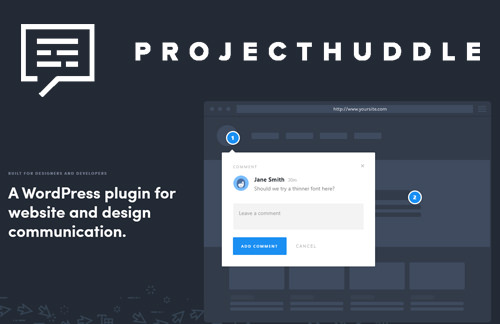 ProjectHuddle v3.4.8 - WordPress Plugin For Website and Design Communication