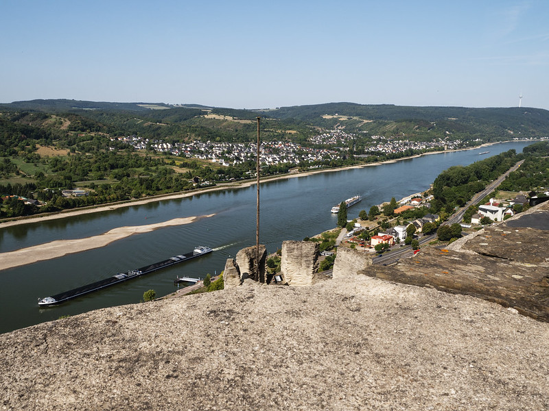 View from Marksburg Castle 2