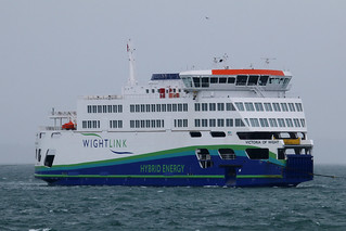 Victoria Of Wight, The Solent, August 10th 2018