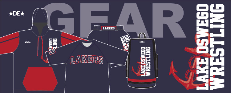 Lake Oswego Wrestling Gear