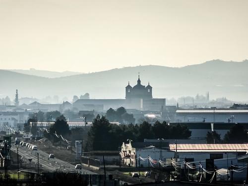 vista de Bolaños de Calatrava desde Castillo Doña Berenguela Ciudad Real 02