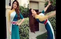 Video: हाई हिल्स के कारण उर्वशी रौतेला का बिगड़ा बैलेंस, खुल गया ड्रेस पर लगा बैल्ट
