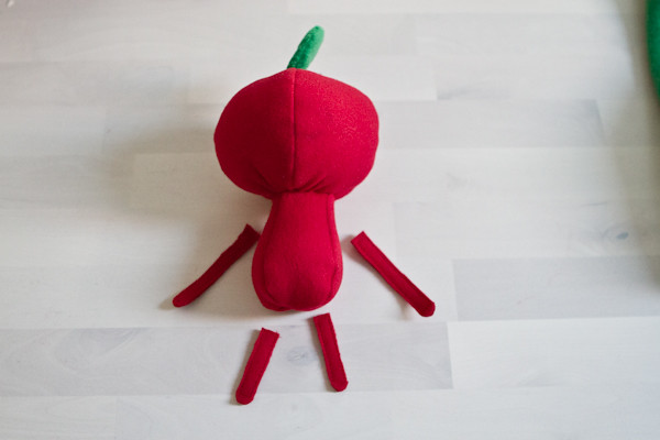 My Little Apple Head: body