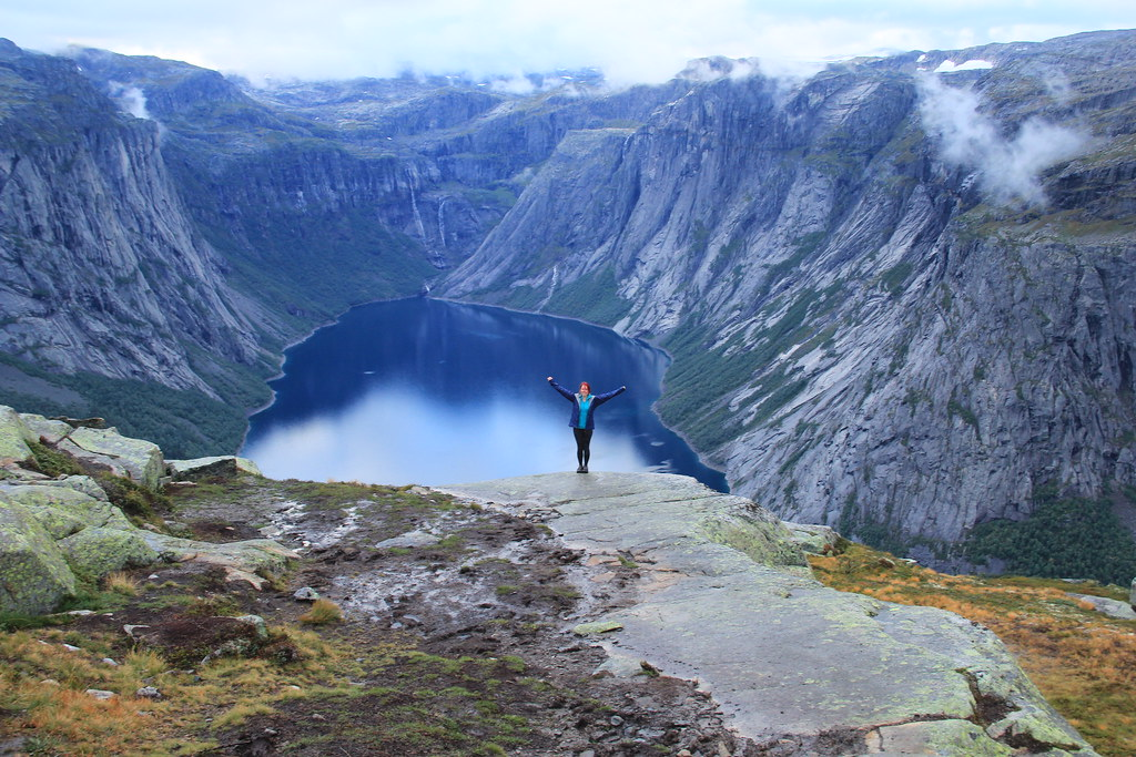 The latter part of the Trolltunga hike was full of viewpoints much like this one.